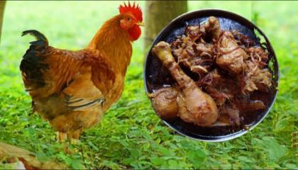 Red Chicken Hyderabadi Recipe  Bawarchi Style Authentic Hyderabadi Red Chicken