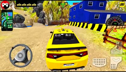 Radio Taxi Driving Game 2021 - Muscle Car Taxi Offroad Driving - 3D Car Simulator - RoyGameplay