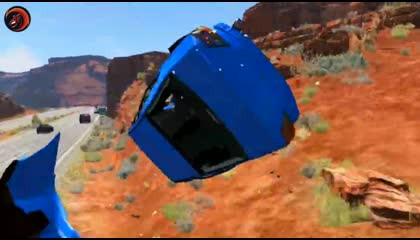 BeamNG Drive Car Crashes Compilation