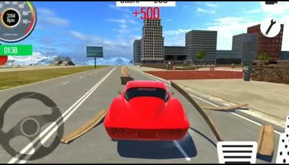 Ultimate City Car Crash 2021 Driving Simulator - Fun Car Game Android gameplay