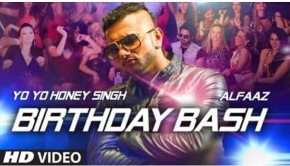 "Birthday Bash (From ""Dilliwaali Zaalim Girlfriend"") - Yo Yo Honey Singh, Alfaaz"