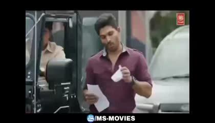 अल्लू अर्जुन की जबरदस्त लव स्टोरी एक बार जरूर देखें... [Movie Scene]