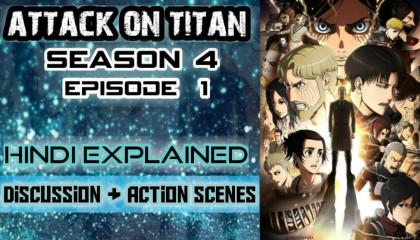 attack on titan season 4 ep 1 in hindi explained  aot s4 ep 1 hindi