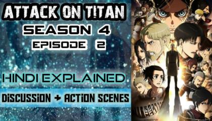 Anime  Attack On Titan Season 4 EP 2 Hindi Explained  Aot S5 EP 2 in hindi