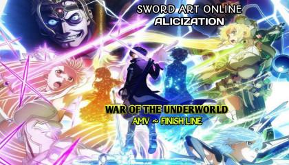 Anime Amv  Finish Line AMV  SAO AMV ~ Finish Line