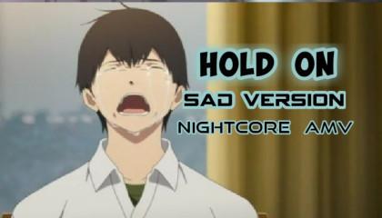 Saddest Amv  Hold On Nightcore Amv  I Want To Eat Your Pancreas  Hold On Night