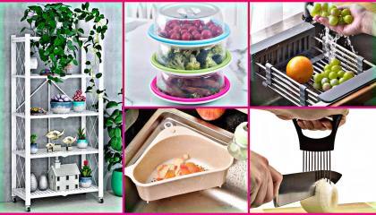 Smart Kitchen Appliances/ Racks/ Amazon Unique Kitchen Gadgets