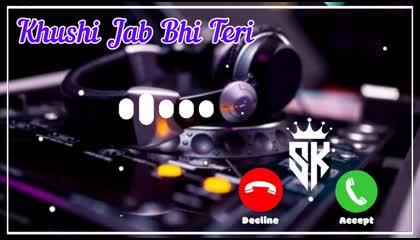 Khushi Jab Bhi Teri Ringtone  New Ringtone 2021  SK Qureshi