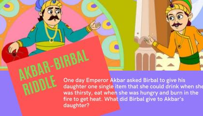 Eat Drink Burn  What did Birbal Give