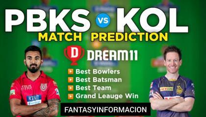 KOL vs PBKS Dream11 Team  VIVO IPL 2021 Dream11 Team today Match Prediction