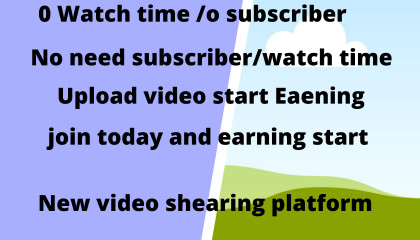 HOW to earn money uploading viddeo,start earning now without subcriber/watch tim
