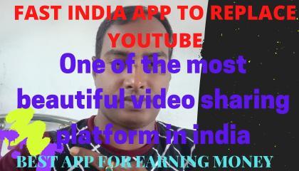 indian fast app video sharing platform Autoplay, monitaization, Youtube alternative,
