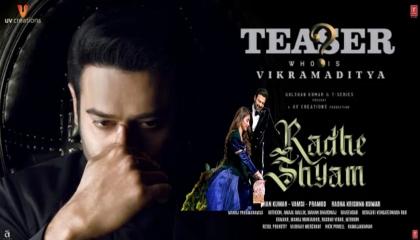 Prabhas as Vikramaditya character Teaser.T. series original music
