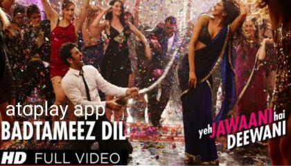 Badtameez Dil Full Song HD Yeh Jawaani MP4 T SERIES 🎵 🎶