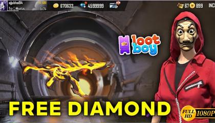 Free Fire Free Diamond for Incubator Spin with LootBoy 2021 - Garena Free Fire