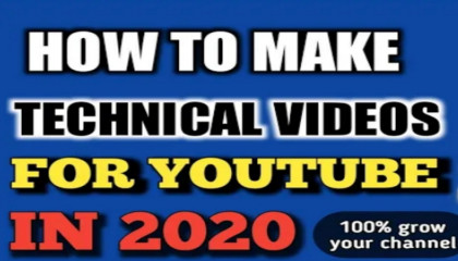 HOW TO MAKE A TECHNICAL VIDEO FOR ATOPLAY