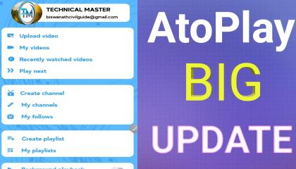 AtoPlay BIG UPDATE