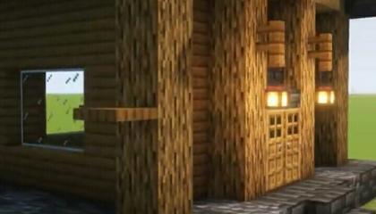 Minecraft starter house / Gamers Lobby