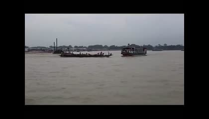 Boat Accident In water live and real video