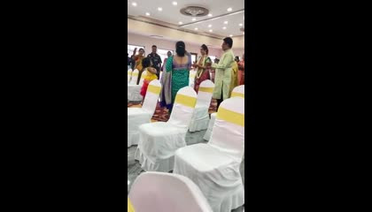 small girl dance in marriage function