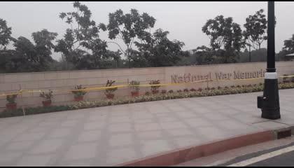 National War Memorial of India  शहीदों की याद में बना नेशनल वॉर मेमोरियल