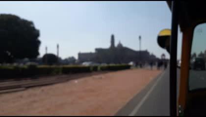 Rashtrapati Bhavan Delhi Outer View  राष्ट्रपति भवन दिल्ली  Glimpse of India