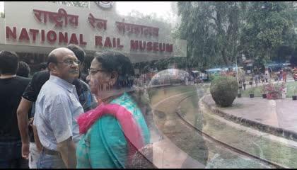 National Rail Museum Delhi  राष्ट्रीय रेल संग्रहालय  Glimpse of India