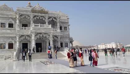 🛕प्रेम मंदिर वृन्दावन  Prem Mandir Vrindavan  Glimpse of India