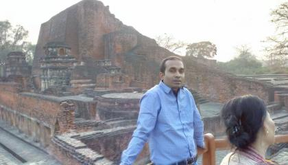 Ruins of Nalanda University   Nalanda ka Khandar