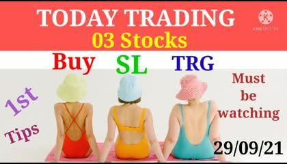 Stocks Treading on 29.09.21