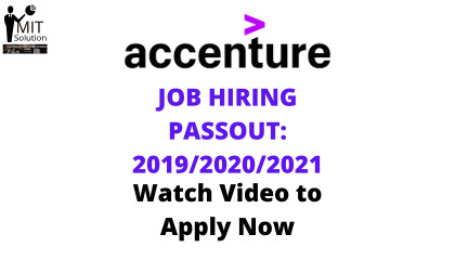 Accenture recruitment process 2021  Accenture recruitment  Accenture jobs 2021