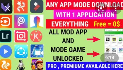 How to download Mod/Premium version of any app for free with one click 100%Real