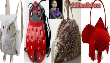 Beautiful animal's type of hand bags design by 11 fashion