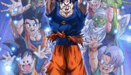 Goku defeat Majin buu/last battle/Goku use spirit bomb/