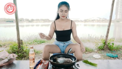 How to make yeammi dishes! Cooking outside