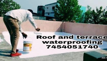 छत को वाटरप्रूफ करने का तरीका