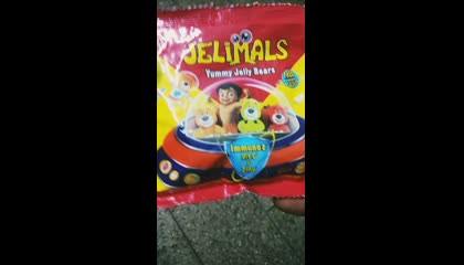 Yummy JELLY Bears FREE TOY 😋😋 Inside pls Follow my Channel