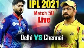 LIVE: DC vs CSK  Delhi vs Chennai Live Scores& DC vs CSK Live IPL Match