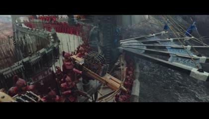 The great Wall frist battle begin movie