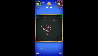 My best break to finish  in 52 second in Marble Clash.