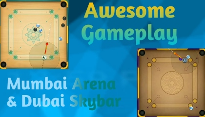 Awesome gameplay 🔥 of carrom pool by- Ultimate Star YT.