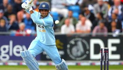 Sourav Ganguly 50 off 37 2015 3rd T20 Los Angeles Sachin's Blasters vs Warne's W