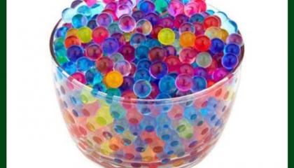 Amazing experiment with orbeez balls
