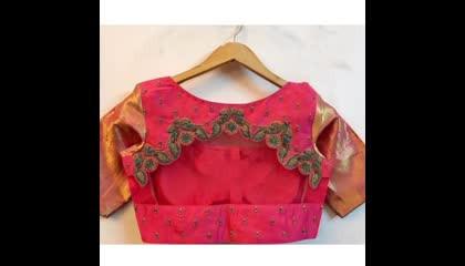 latest designer blouse designs/ sleeves designs