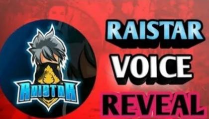 Raister voice reveled ?😱😱😱