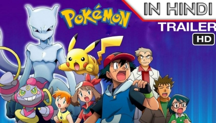 Pokemon Hoopa And The Clash Of Ages Final Trailer IN  Hindi Dubbed