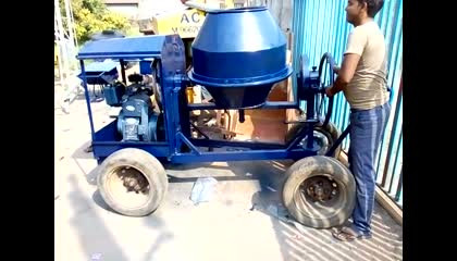 half bag diesel concrete mixer